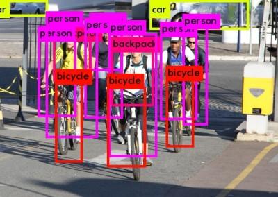 Contagem Digital de Fluxo de Ciclistas